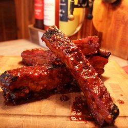 Red Dog Saloon Burn-Out Rib Challenge